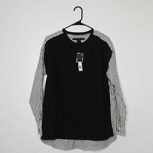 Marc by Marc Jacobs NWT Striped Long Sleeve S/P
